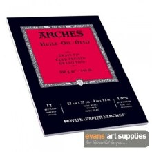 "Arches Oil Pad 16x12"" 300gsm"