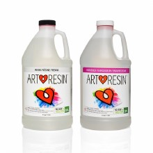 Art Resin - High-Gloss Epoxy Resin Clear - 1 Gallon