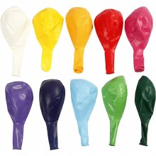 Balloons Assorted 23cm 10 pack