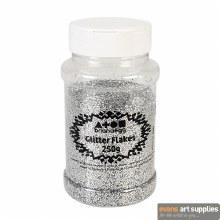 BC 250g Glitter Shaker Silver
