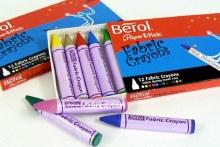 Berol 12 Fabric Crayons
