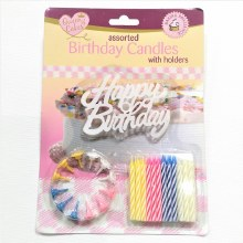 Birthday Candles 12 assorted