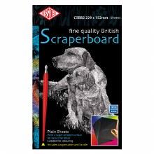 Black Scraperboard 229x152mm - 5s