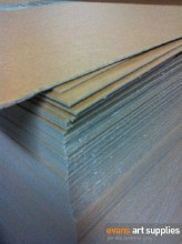 Heavy Brown Chipboard (Min 3 Sheets) COLLCTION ONLY