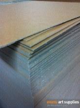 Heavy Brown Chipboard (Min 3 Sheets)