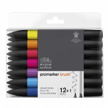 Brush Marker Set 12 Vibrant