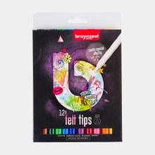 Bruynzeel Felt Tips Set of 12