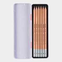 Bruynzeel Tin of 6 Graphite Pencils