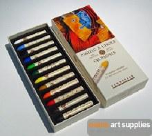 S/Oil Pastel Set 12 Initiation