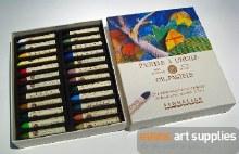 S/Oil Pastel Set 24 Landscape