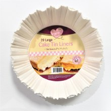 Cake Tin Liners 20 pack