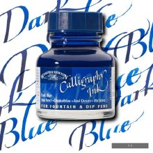 Winsor & Newton Calligraphy Ink Dark Blue 30ml