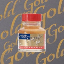 Winsor & Newton Calligraphy Ink Gold 30ml