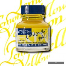 Winsor & Newton Calligraphy Ink Lemon Yellow 30ml