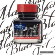 Winsor & Newton Calligraphy Ink Matt Black 30ml