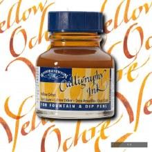 Winsor & Newton Calligraphy Ink Yellow Ochre 30ml