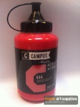 Campus 500ml Cadmium Red Medium 616