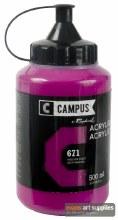 Campus 500ml Magenta 671