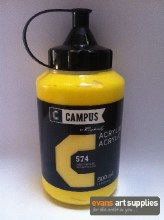 Campus 500ml Primary Yellow 574