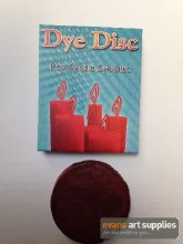 Candle Dye Disc Red