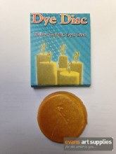 Candle Dye Disc Yellow