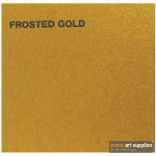 Canford A1 Card 300gsm Frosted Gold (Min 3 Sheets)