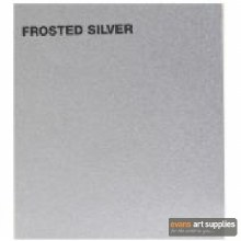 Canford A1 Card 300gsm Frosted Silver (Min 3 Sheets)