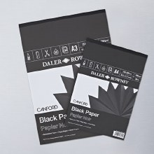 Canford A4 Black Paper Pad