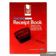 Carbonless 100pg Receipt Book
