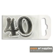 Card Decorations No.40 Silver*
