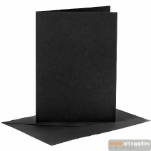 Card & Envelope Black