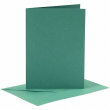 Card & Envelope Dark Green