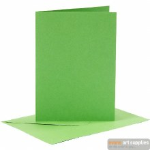 Card & Envelope Green
