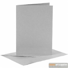 Card & Envelope Grey