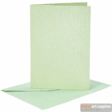 Card & Envelope Lt Grn MOP