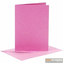 Card & Envelope Pink