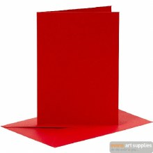 Card & Envelope Red