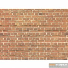 "Carton Wall ""Red Brick"" 23x15c"
