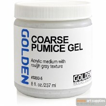 Golden Coarse Pumice Gel 236ml