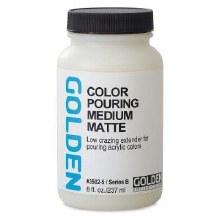 Golden Color Pouring Medium Matte 237ml