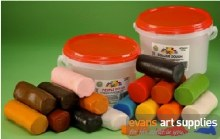 Coloured Dough Tub 2.4Kg