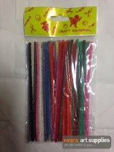 Pipe Cleaners Coloured 50s