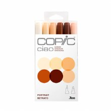 Copic Ciao Portrait Tone Set - 6 Markers
