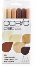 Copic Ciao 6pc Set Skin