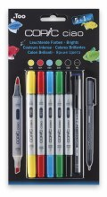 Copic Ciao 5+1 Set Brights