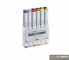 Copic Sketch 12pc Basic Set