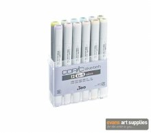 Copic Sketch 12pc Set EX-4