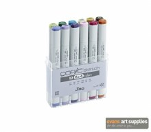Copic Sketch 12pc Set EX-6