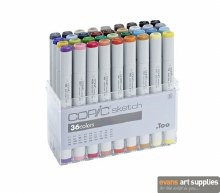 Copic Sketch 36pc Set