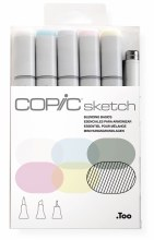 Copic Sketch 6pc Set Blending Basics